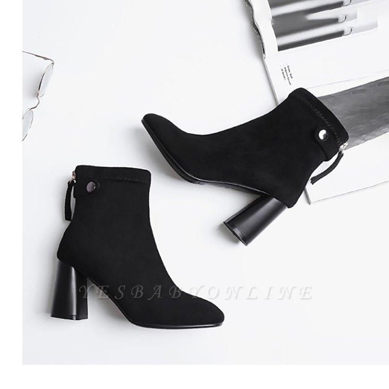 Zipper Daily Pointed Toe On Sale