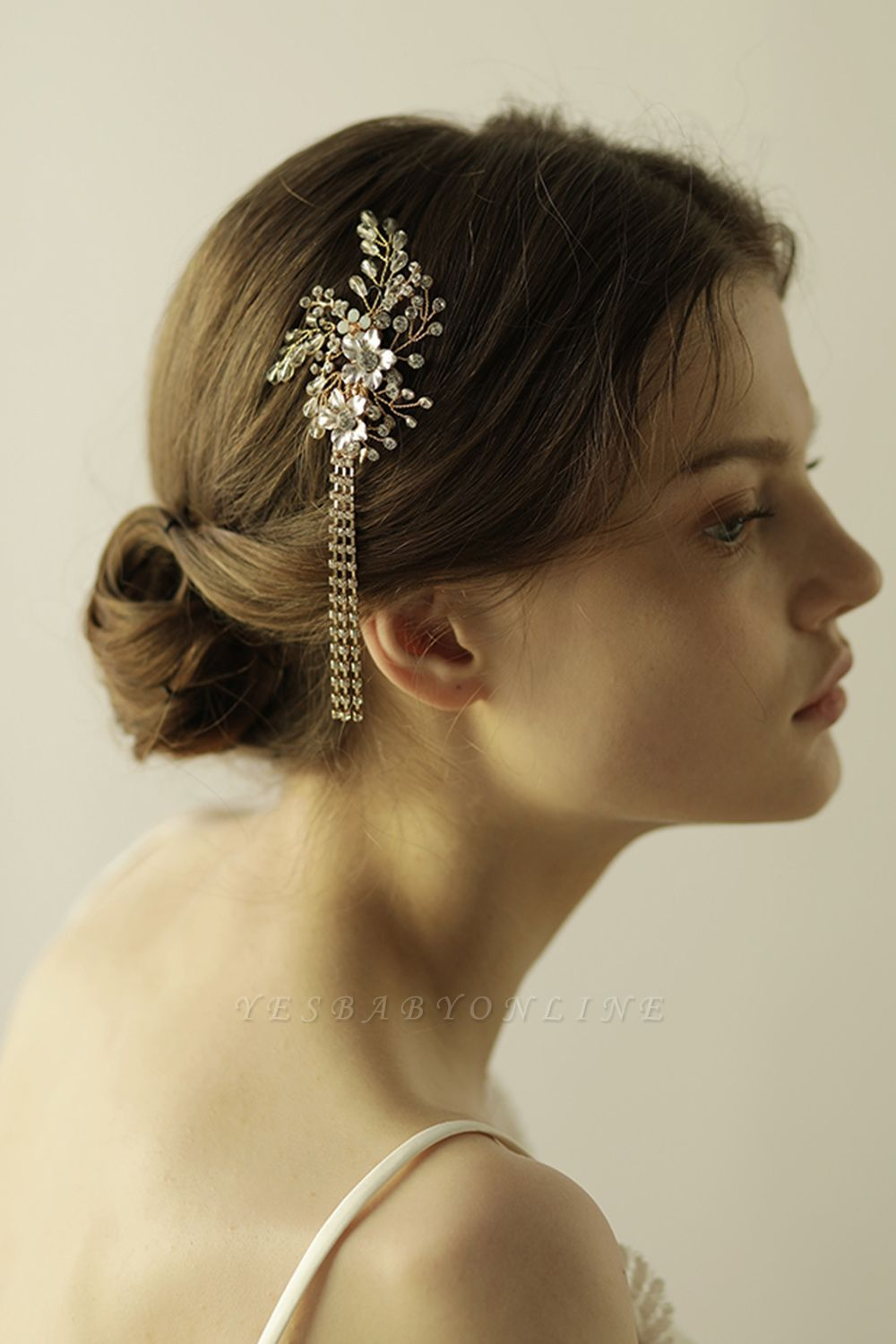 Beautiful Alloy Special Occasion Hairpins Headpiece with Rhinestone