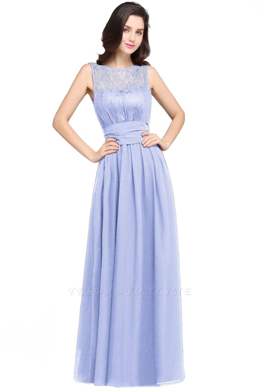 CHARLOTTE  Floor-length Black Chiffon Sexy Prom Dresses | Black Evening Dresses