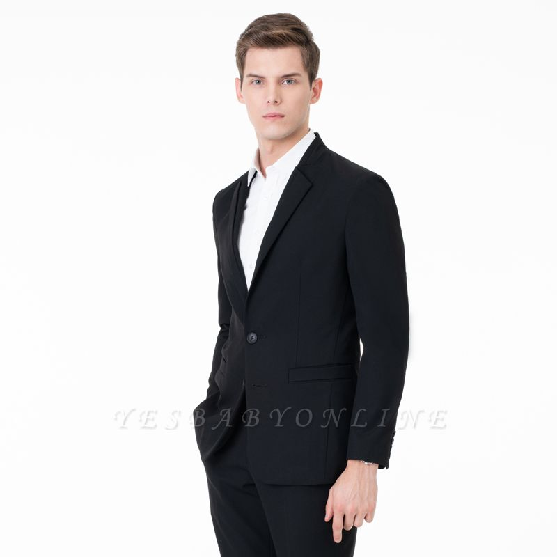 Two-piece Suit Peak Lapel Single Breasted Casual Suits