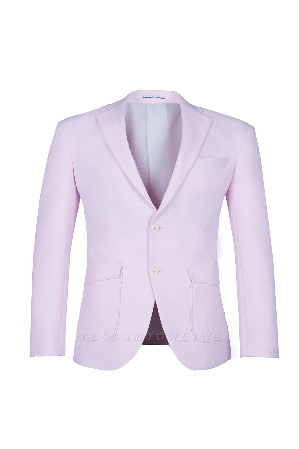 Candy Pink High Quality Single Breasted Peak Lapel Wedding Suit