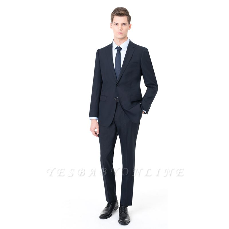 Two-piece Suit Peak Lapel Single Breasted Wedding Suits