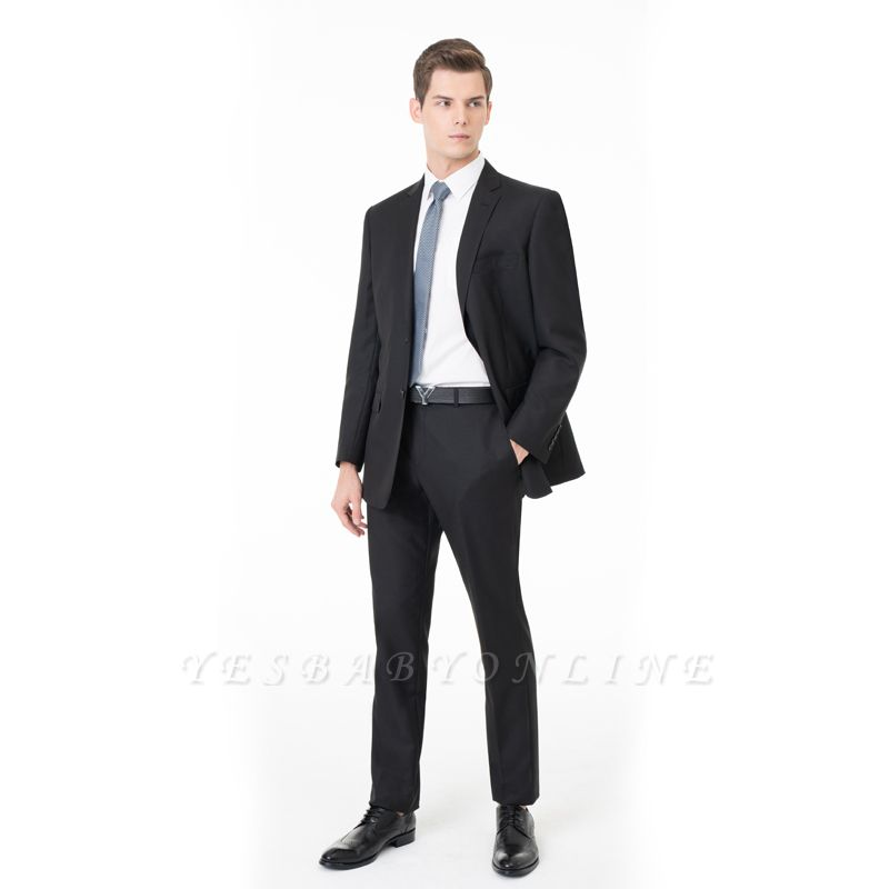 Two Pieces with Pants Single Breasted Peak Lapel Latest Design