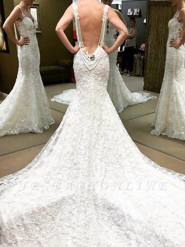 Shabby Chic Lace Floor-Length Short Sleeves Puffy Off-the-Shoulder Wedding Dresses