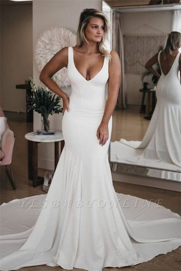 Glamorous Sweetheart Flower Lace Appliques Wedding Dresses