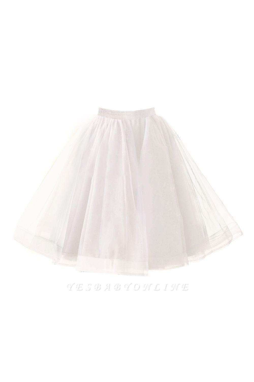 Alluring Tulle Short A-line Skirts   Elastic Women's Skirts