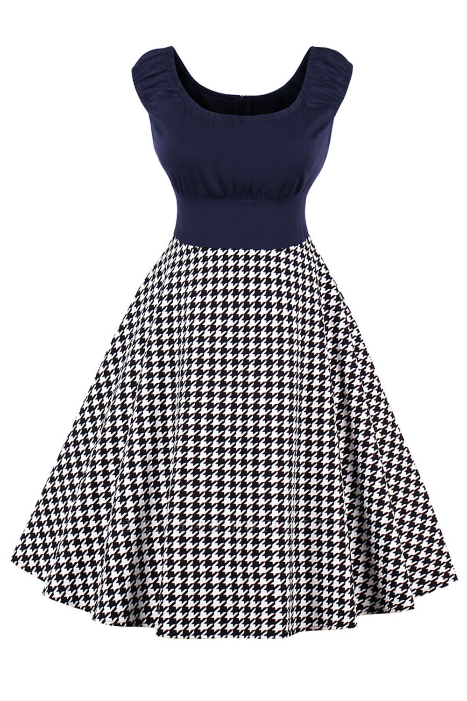 Wonderful Scoop Cap-Sleeves A-line Fashion Dresses | Knee-Length Women's Dresses