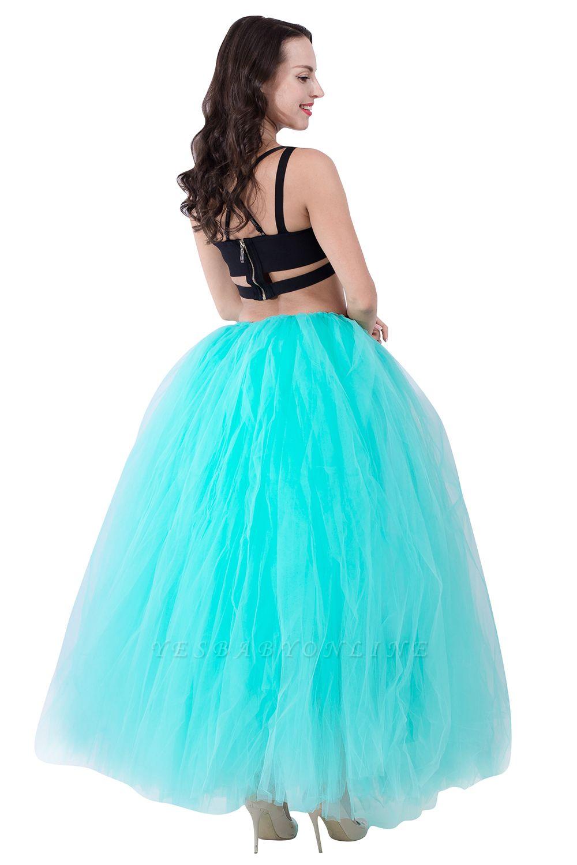Fascinating Tulle Floor-Length Ball-Gown Skirts   Elastic Women's Skirts