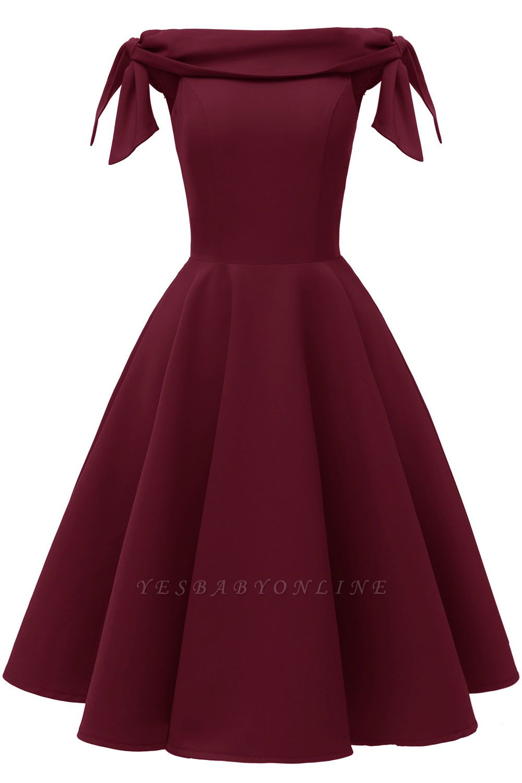 Womens Bateau Burgundy Navy Ruby Vintage Dresses