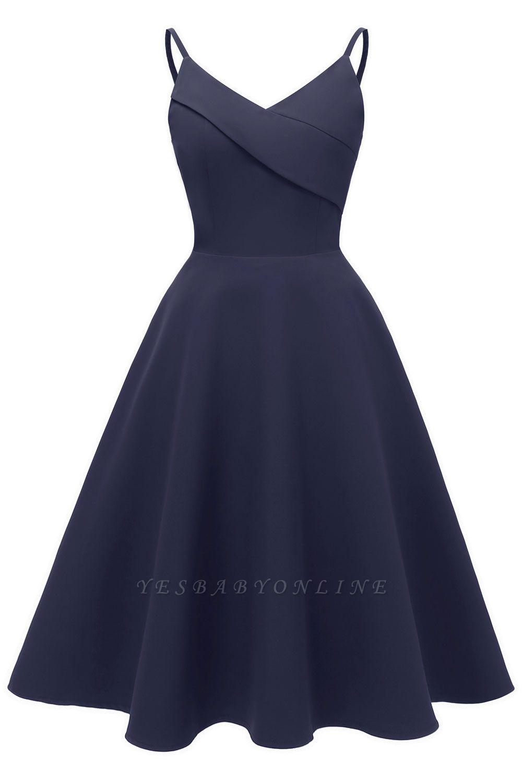Stunning Spaghetti Straps Sleeveless Princess Vintage Dresses