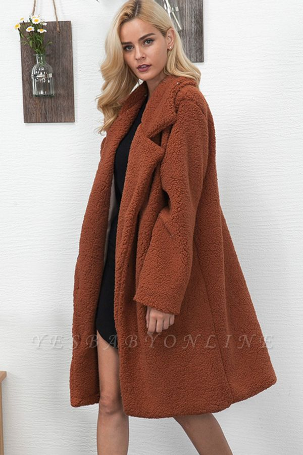 Women Thick Winter Faux Shearling Taffeta Coat
