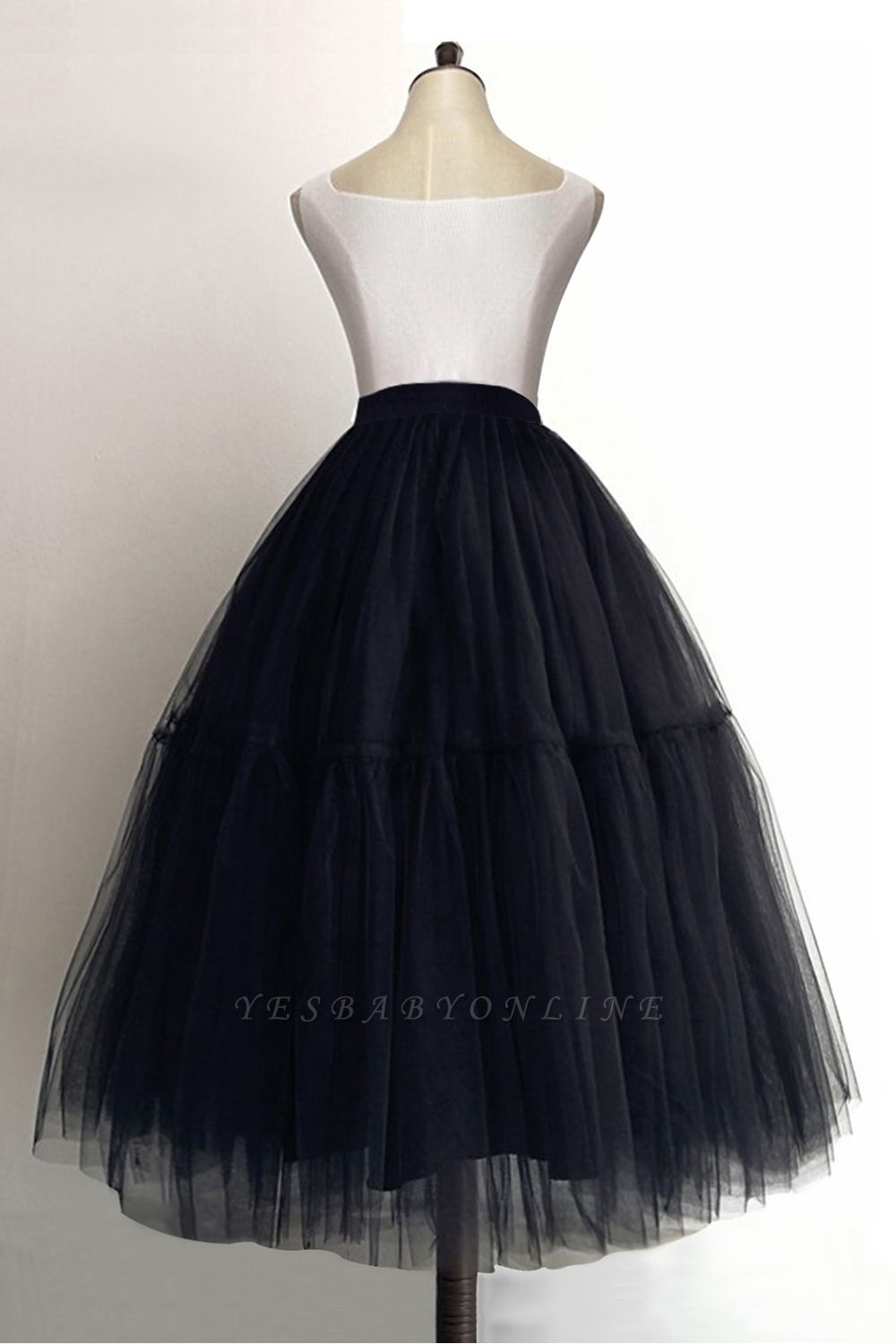 Bambi | Cheap Black Ball Gown Petticoat