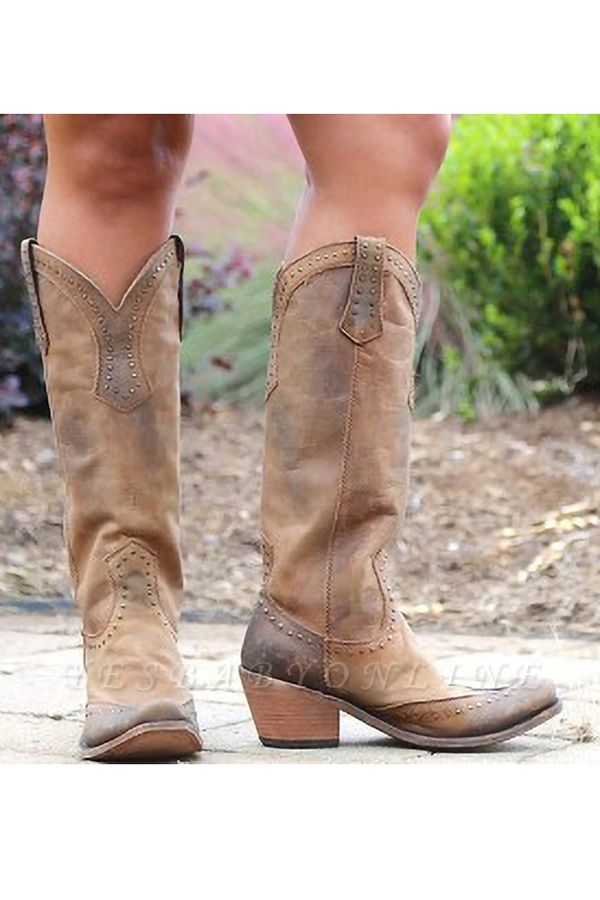Stylish Knee High Women's Boots
