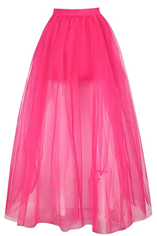 Blossom | Black Tassel High Low Petticoat