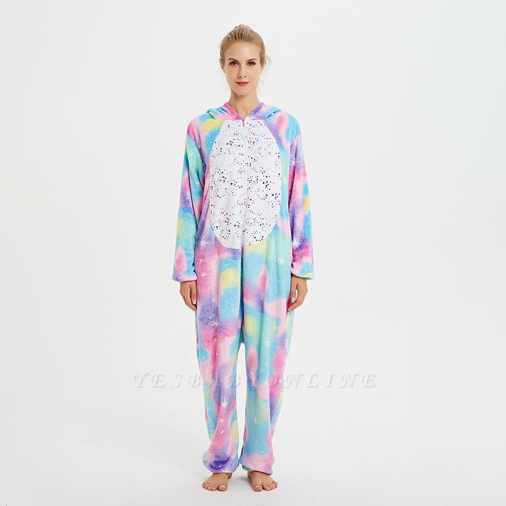 Cute Animal Pyjamas for Women Rainbow Hoodie Onesies