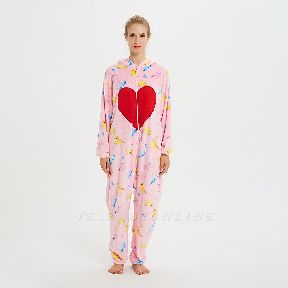 Cute Pyjamas for Women Unicorn Onesies, Pink