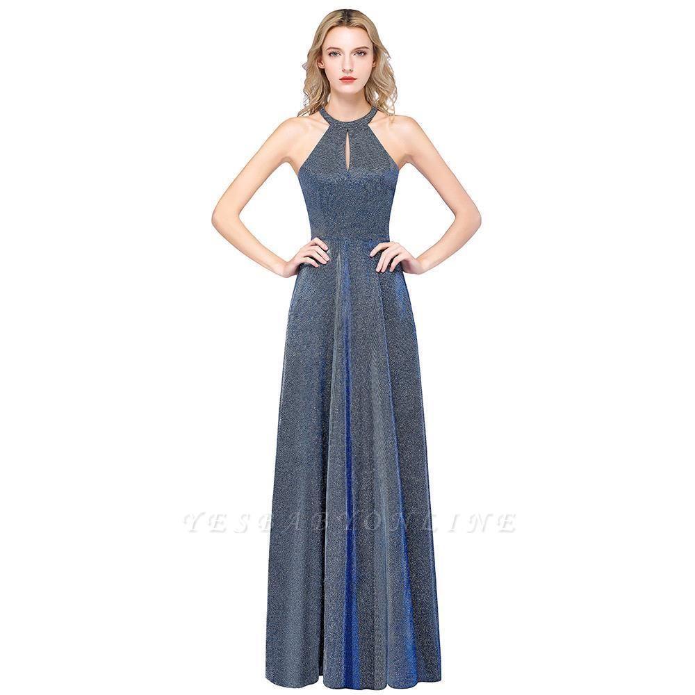Fashion A-Line Halter Sleeveless Evening Dress On Sale