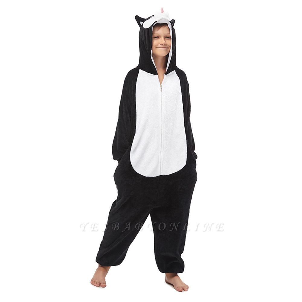 Lovely Pajamas Sleepwear Huskie Onesie, Dark