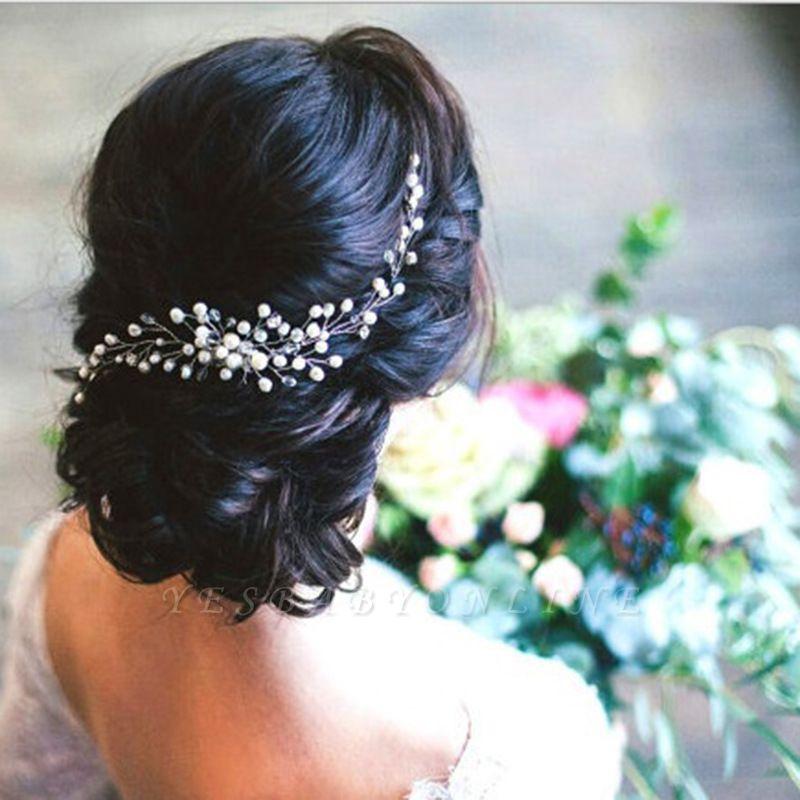 Glamorous Crystal Rhinestone Headpiece