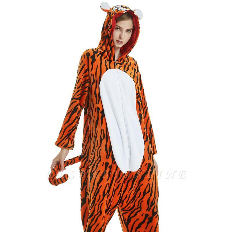 Animal Sleepwear for Women Tiger Onesies