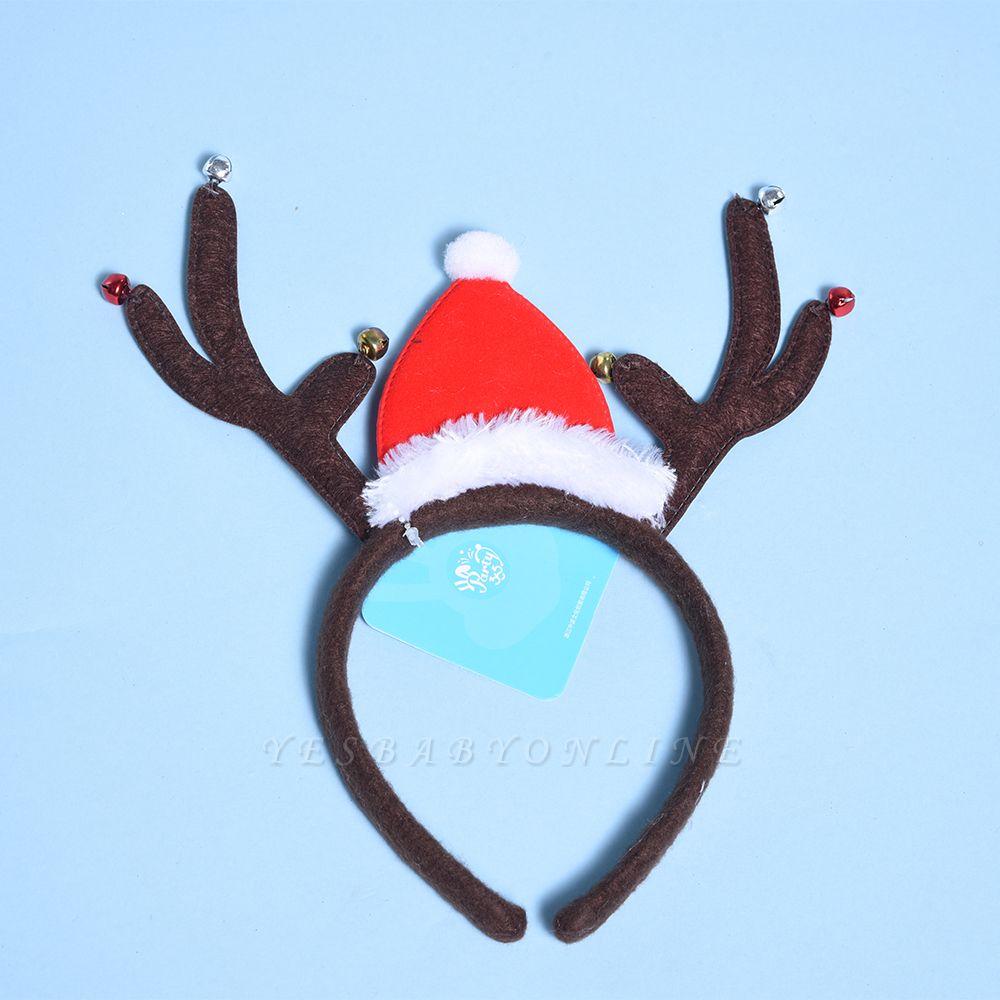 Christmas Decoration Santa Cap Wapiti Deer Headhand