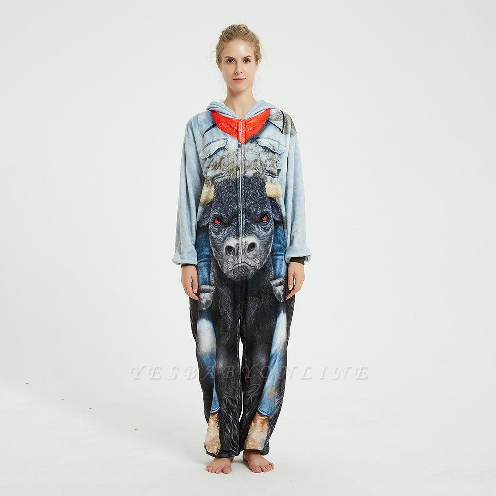 Cute Animal Pyjamas Hoodie Onesies for Women