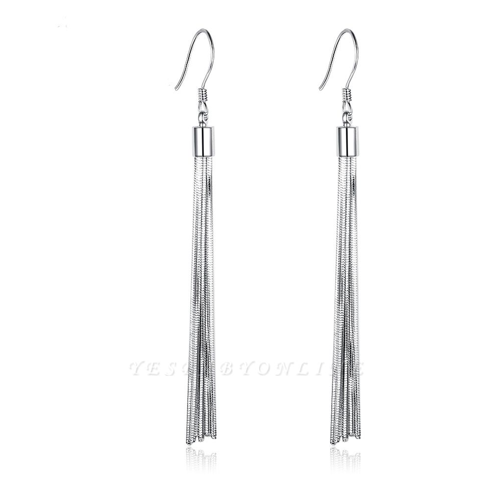 Personalized Sterling 925 Silver Earrings