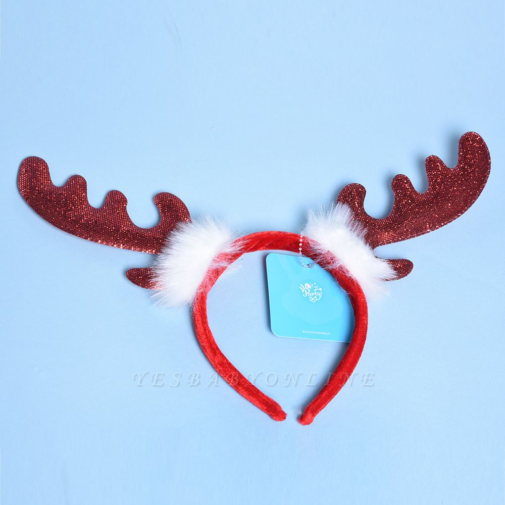 Christmas Decoration Lovely Wapiti Deer Headhand