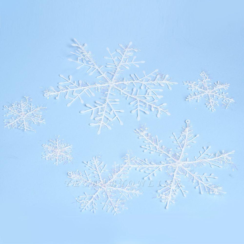 Christmas Decoration, Xmas Snow, Set of 6