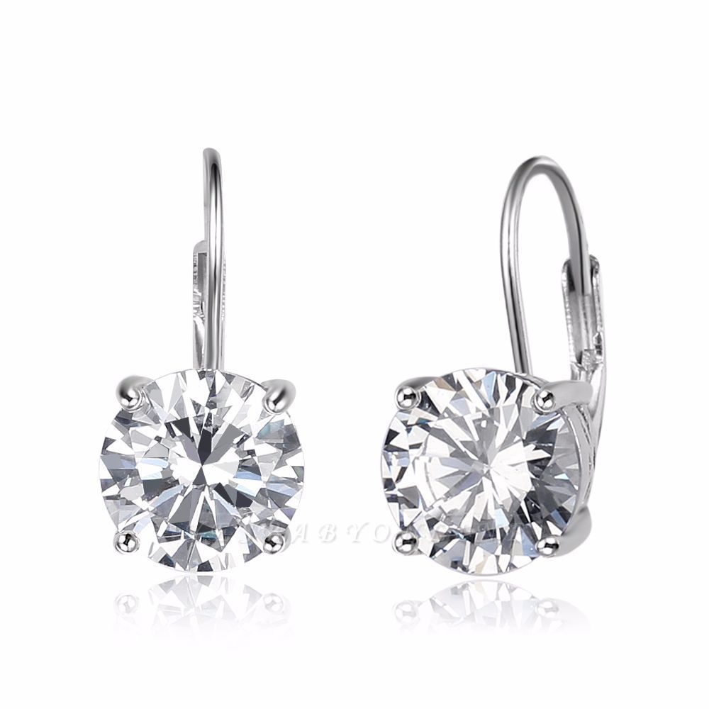 Personalized Alloy Plated Earrings Jewelry for Fashion Girls
