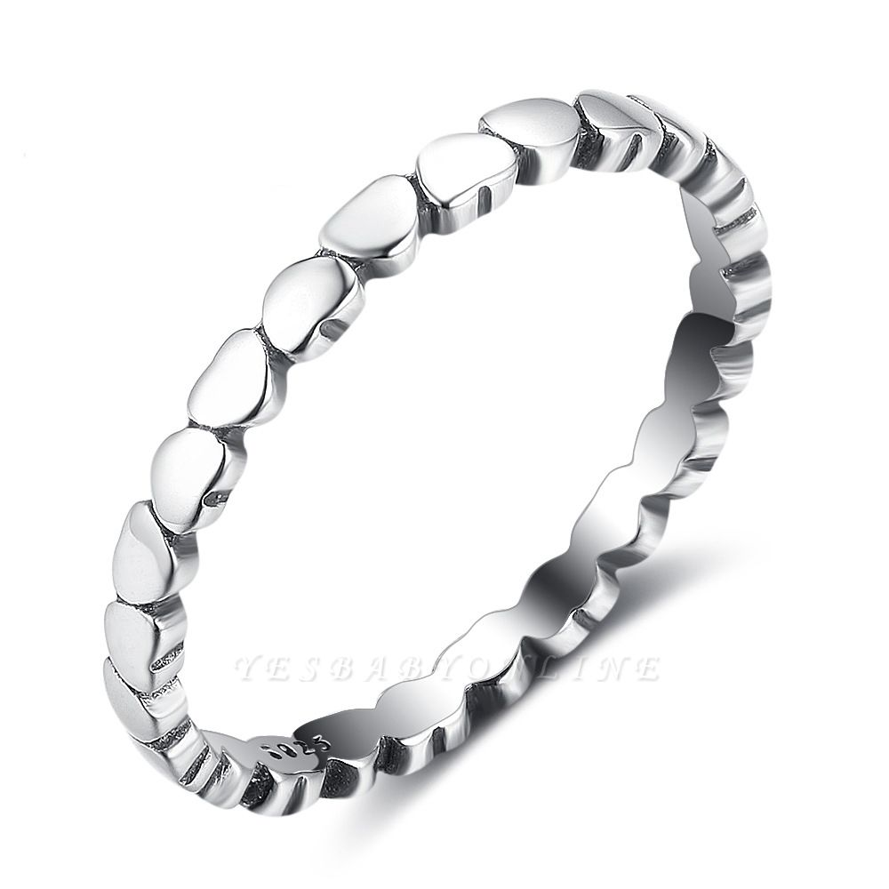 Elegant Alloy Plated Rings
