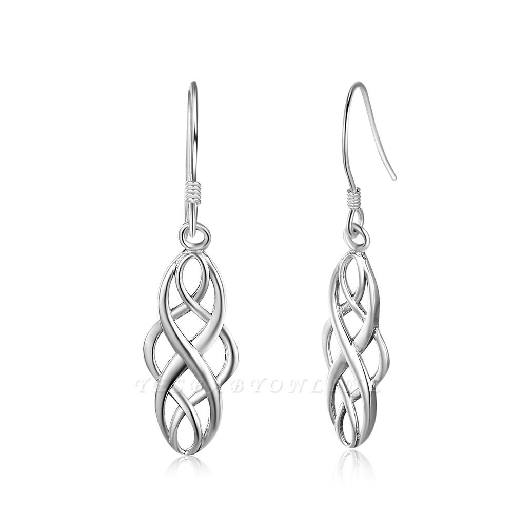 Chic Alloy Plated Ladies' Earrings Jewelry