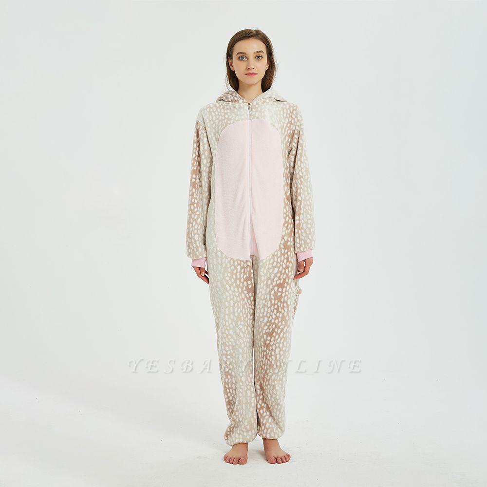 Adorable Adult Pyjamas for Women Deer Onesies