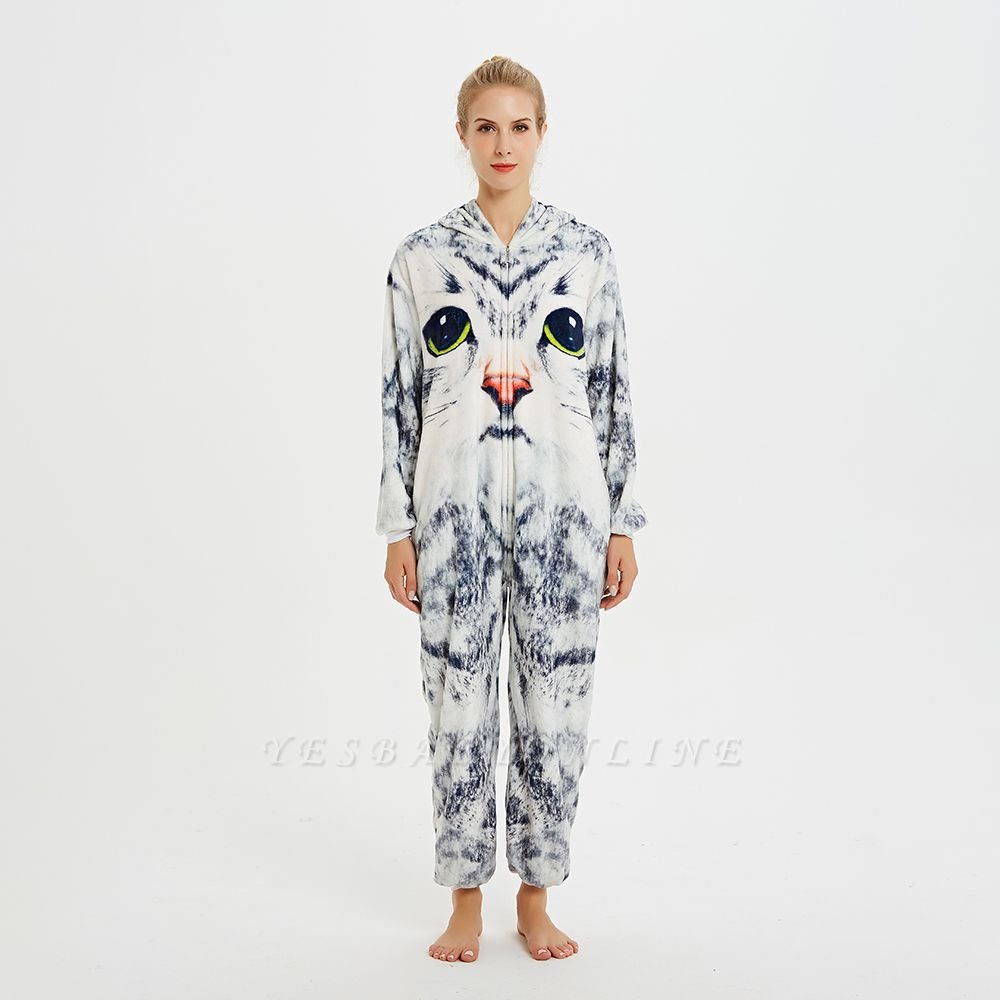 Cute Hoodie Onesies Pyjamas for Women