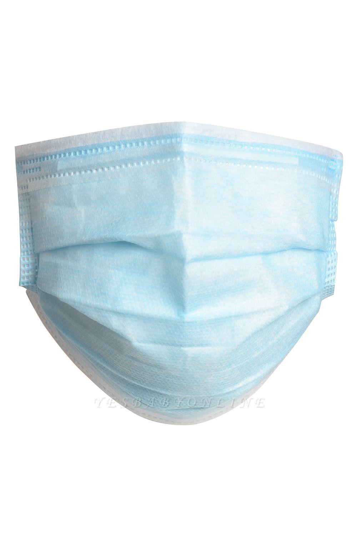 Disposable Dustproof Face Mouth Masks Ear Loop-50Pcs