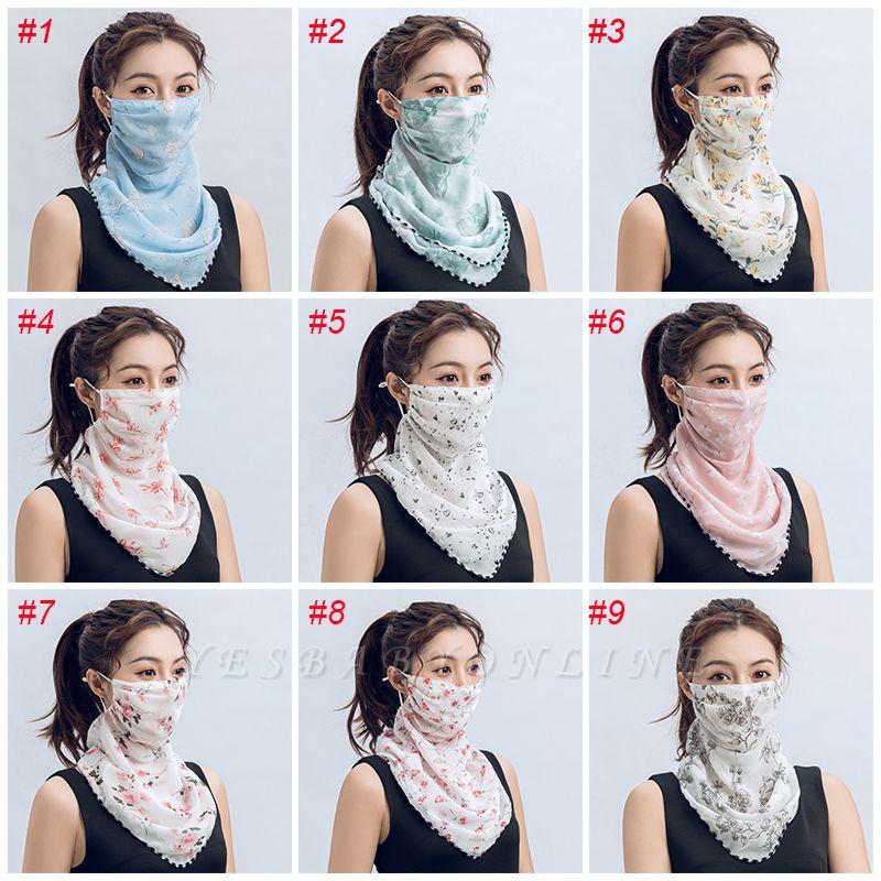 Women's Fashion Face Bandana Ear Loops Face Balaclava Neck Gaiters
