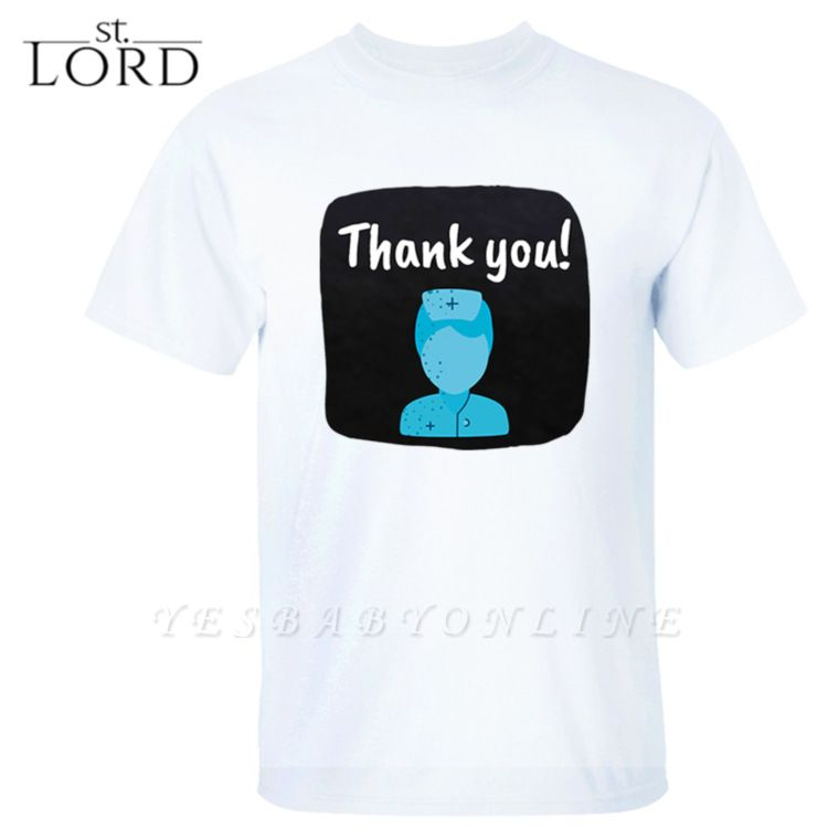 Cotton Jewel Thank You Printed T-shirt Special Memory 2020