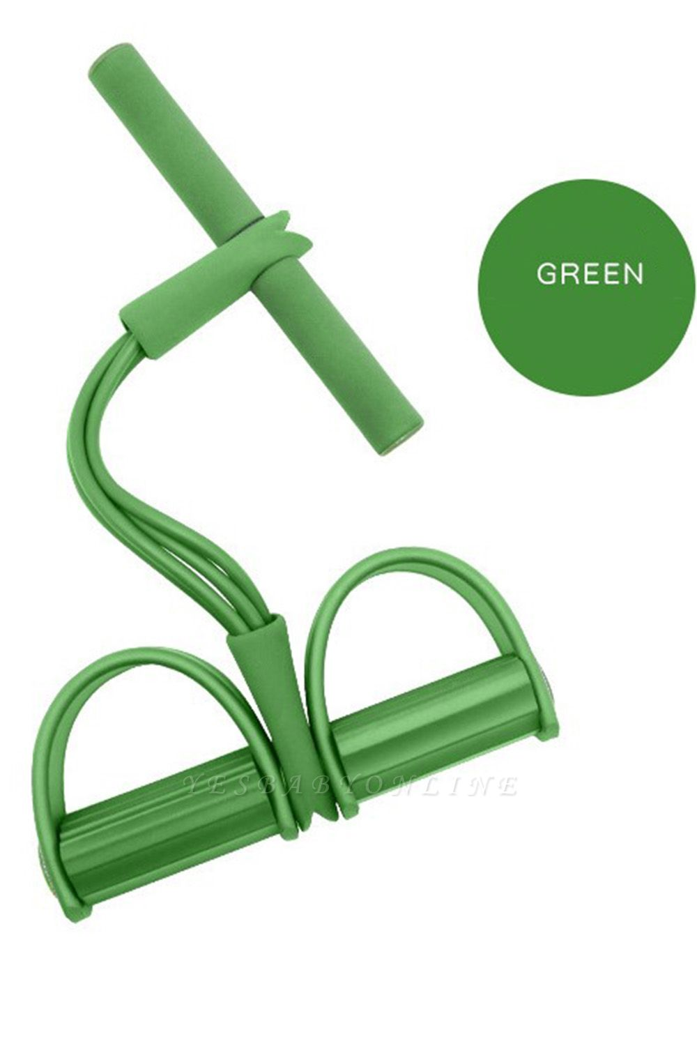 Latex Pedal Exerciser Sit up Pull Rope Expander Elastic Bands Yoga Equipment Pilates   New Fitness Resistance BandsWorkout Tool