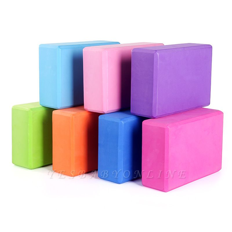 Stretching High Density Foaming Exercises Yoga Block | Fitness Shaping Health Training Tool