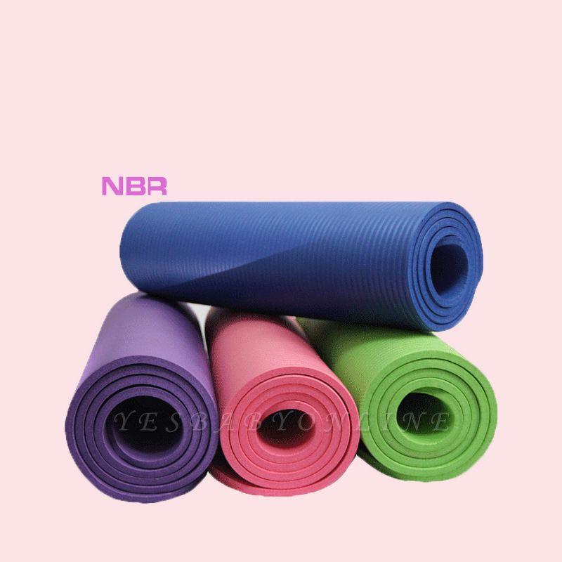 High Density Eco Excercise Fitness Yoga Mat