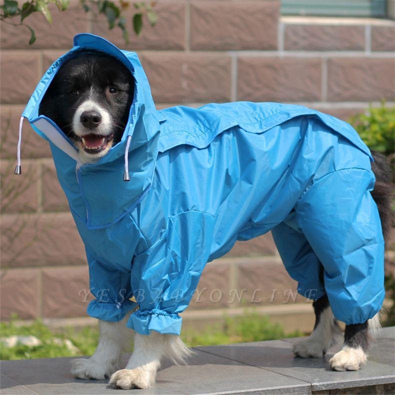 Water Proof Dog Rain Jacket With Hood