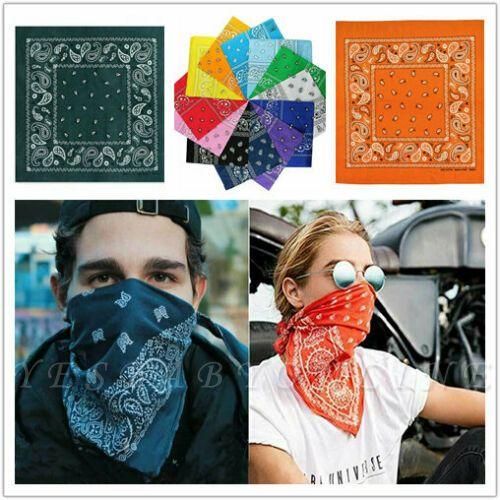 Bandanas Headbands For Women and Men Organic 100% Cotton