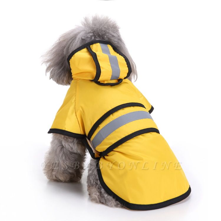 Cute Dog Rain Poncho Fashion Dog Raincoat for Small Medium Dog