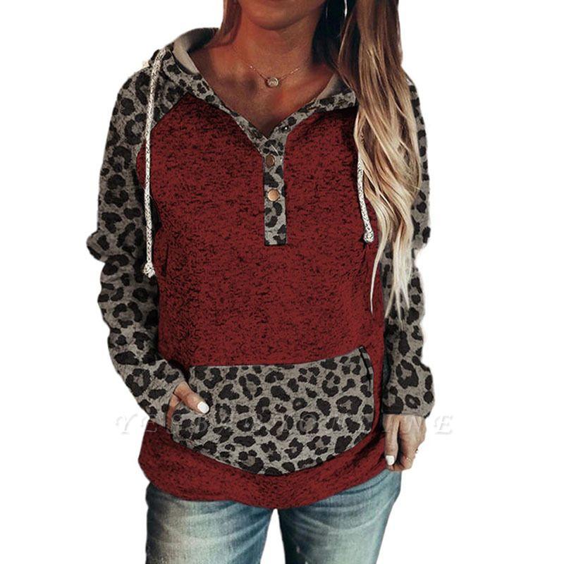 Women's Fashion Long Sleeves Hooded Sweatshirt