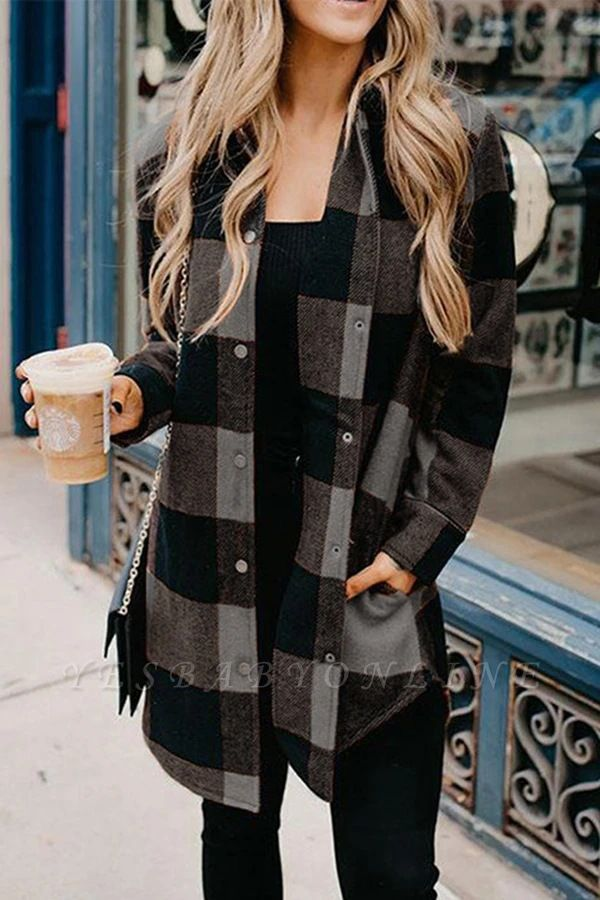 Classic Plaid Cozy Shirt