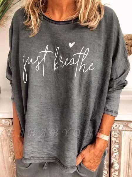 Women's Cotton CrewNeck Printed T-shirt