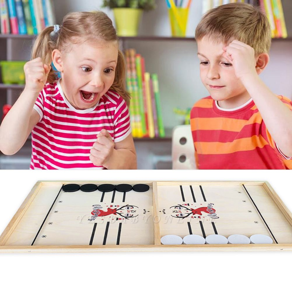 Table Ice Hockey Chess Interactive Play Toys Lightweight Game Foosball Games Parent-child Game Playing Elements