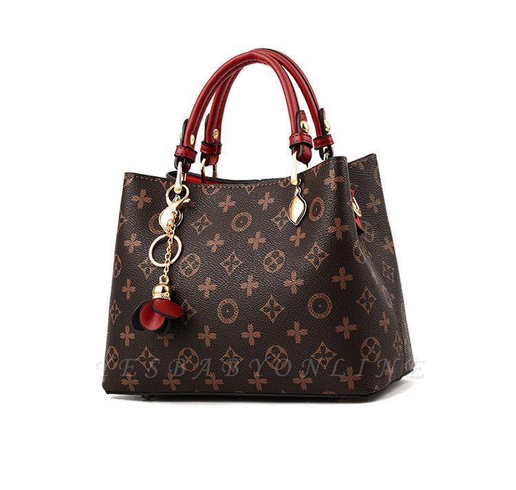 2021 Female Tote Bag Designers Luxury Handbags Printed Bucket simple women bag Famous Brand Shoulder Bag