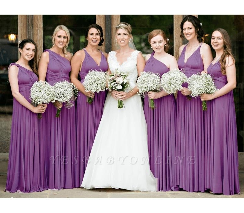 Multiway Infinity Wisteria Bridesmaid Dresses   Convertible Wedding Party Dress