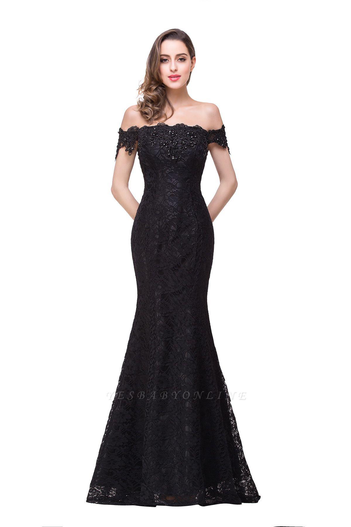 EMMALYNN | Mermaid Off Shoulder  Floor-Length Lace Bridesmaid Dresses